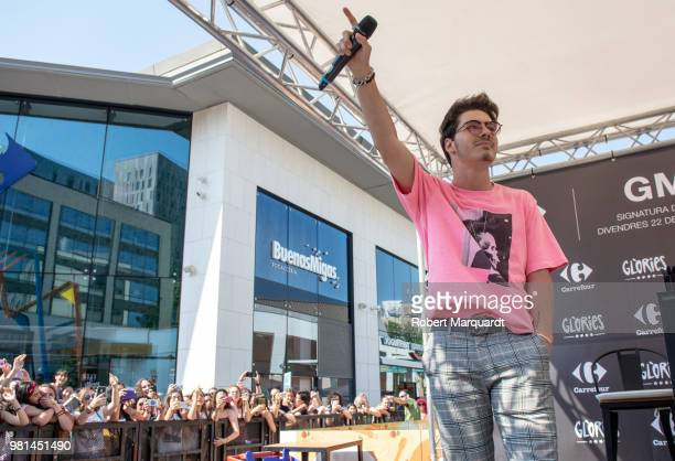 Jesus Oviedo Morrilla of the Gemeliers seen attending his new album 'Stereo' presentation at the Glories shopping center on June 22 2018 in Barcelona...