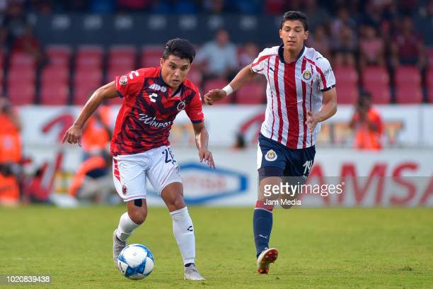 Juvenal Olmos coach of Veracruz during a fifth round match between Veracruz and Chivas as part of Torneo Apertura 2018 Liga MX at Luis 'Pirata' de la...