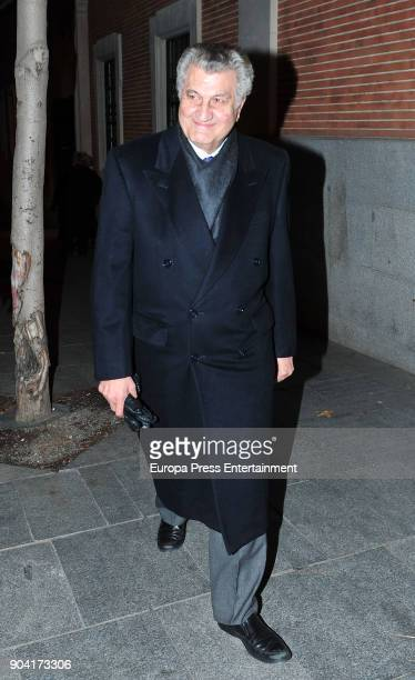 Jesus Posada attends the funeral mass for Carmen Franco daughter of the dictator Francisco Franco at the Francisco de Borja church on January 11 2018...