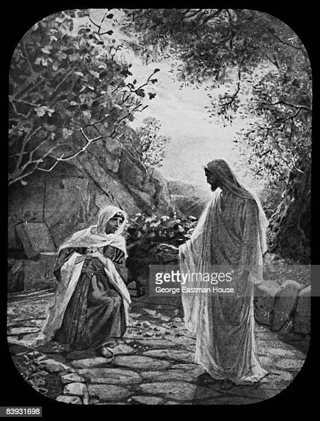 Jesus reveals Himself to Mary Magdalene after his resurrection ca1880s