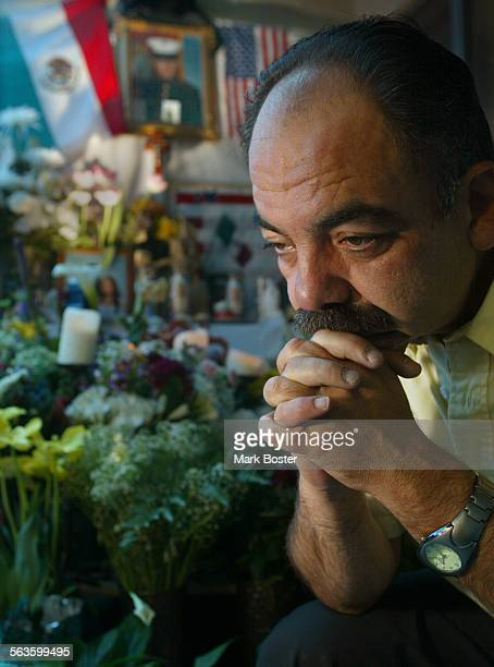 –Jesus Suarez del Solar was killed in action in Iraq on March 27th His father Fernando grieved in front of an altar on the patio of their Escondido...