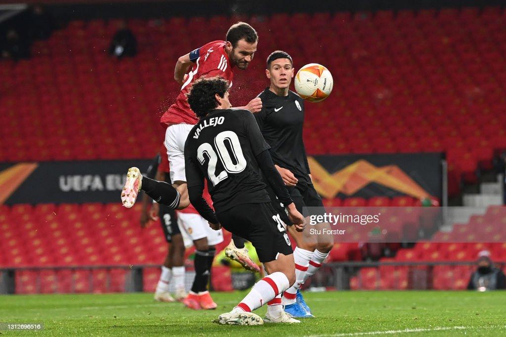 Manchester United v Granada CF - UEFA Europa League Quarter Final: Leg Two : News Photo