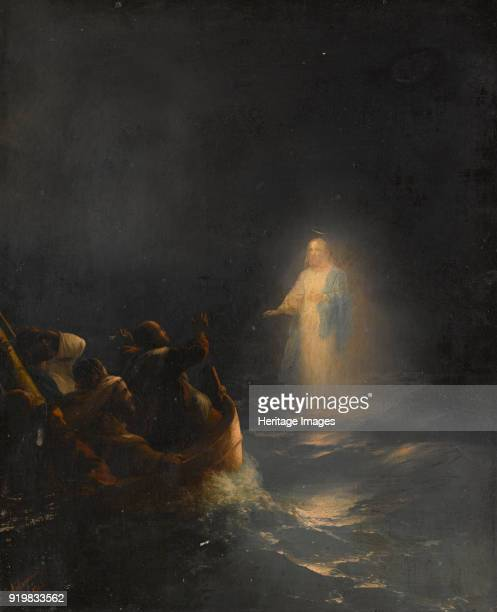 Jesus Walks on Water 1863 Private Collection