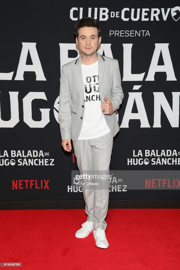 Jesus Zavala attends Netflix 'La Balada de Hugo Sanchez' special screening at Alboa Patriotismo on June 13, 2018 in Mexico City, Mexico.