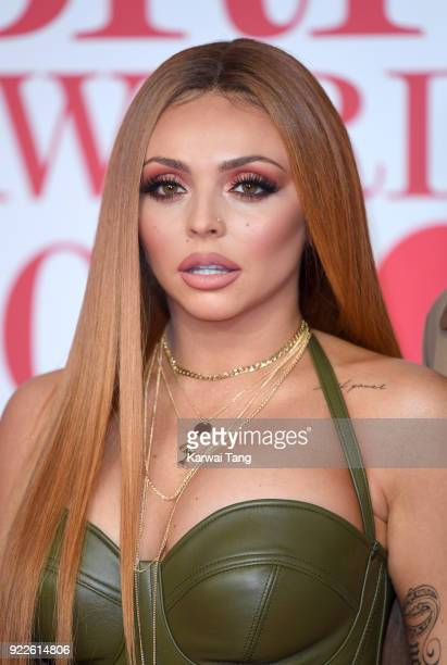 AWARDS 2018 *** Jesy Nelson attends The BRIT Awards 2018 held at The O2 Arena on February 21 2018 in London England