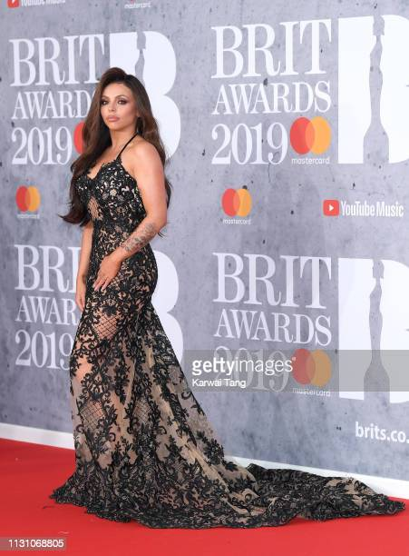 Jesy Nelson attends The BRIT Awards 2019 held at The O2 Arena on February 20 2019 in London England