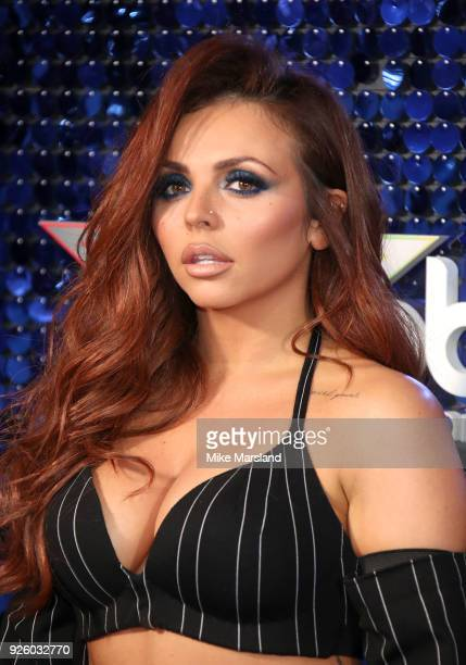 Jesy Nelson attends The Global Awards 2018 at Eventim Apollo, Hammersmith on March 1, 2018 in London, England.