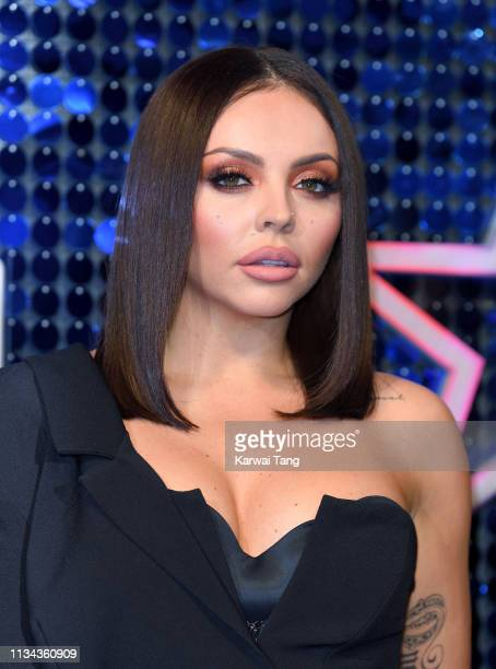 Jesy Nelson attends The Global Awards 2019 at Eventim Apollo Hammersmith on March 07 2019 in London England