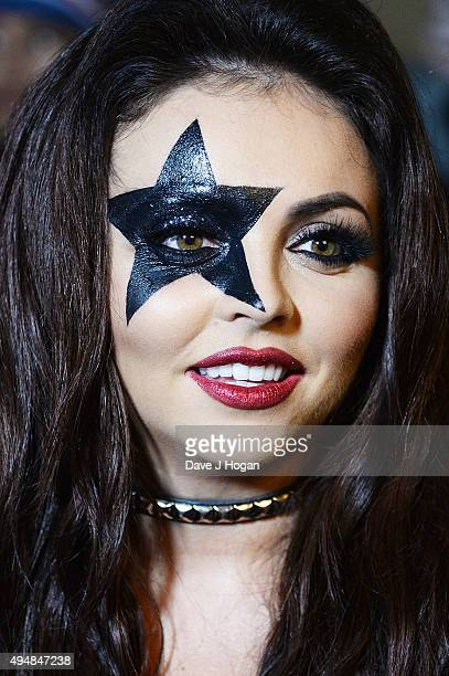 Jesy Nelson attends the KISS FM Haunted House Party at SSE Arena on October 29 2015 in London England