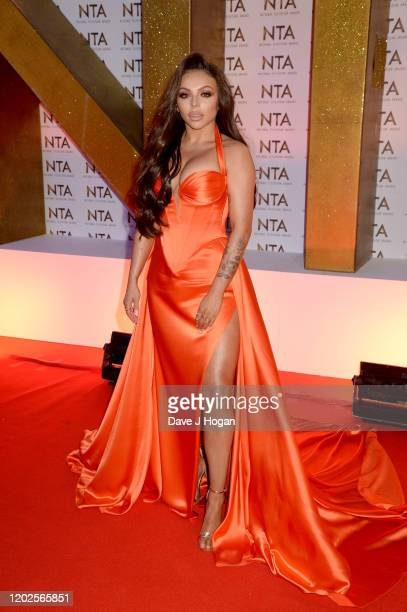 Jesy Nelson attends the National Television Awards 2020 at The O2 Arena on January 28 2020 in London England