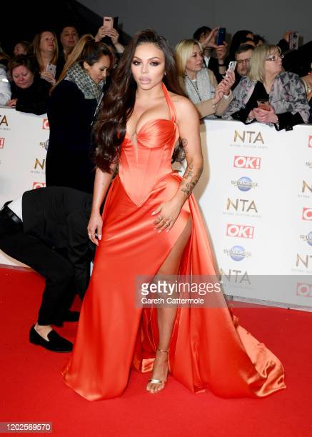 Jesy Nelson attends the National Television Awards 2020 at The O2 Arena on January 28, 2020 in London, England.