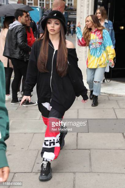 Jesy Nelson from Little Mix seen at KISS FM UK on June 12 2019 in London England
