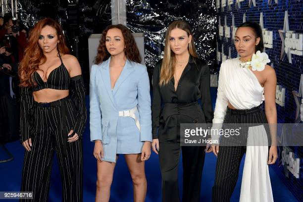 Jesy Nelson Jade Thirlwall Perrie Edwards and LeighAnne Pinnock of Little Mix attend The Global Awards a brand new awards show hosted by Global the...