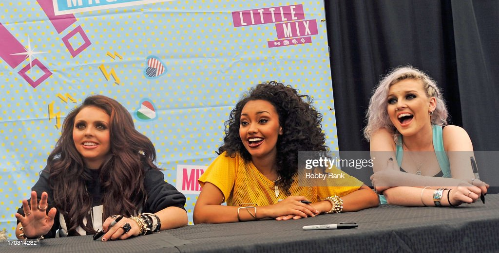 Little mix jesy nelson leigh anne pinnock and perrie edwards of little mix attends the little m4hsunfo