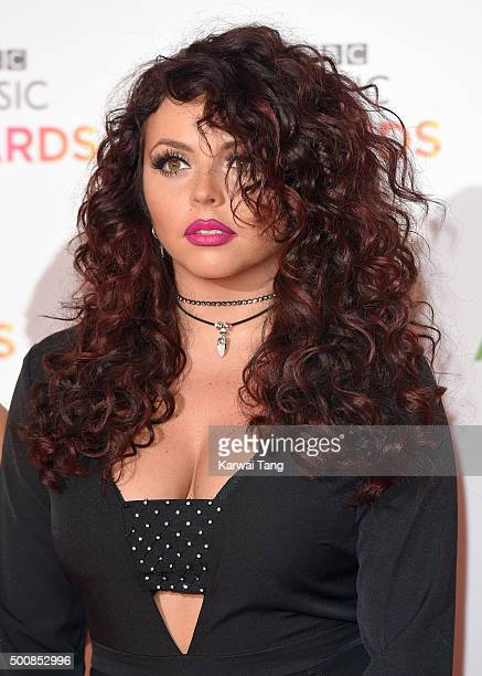 Jesy Nelson of Little Mix attends the BBC Music Awards at Genting Arena on December 10 2015 in Birmingham England