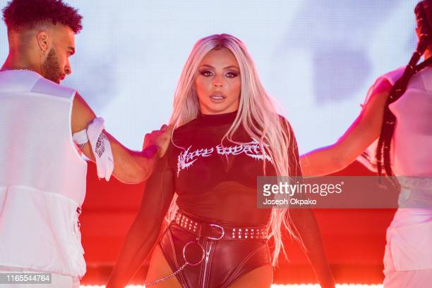 Jesy Nelson of Little Mix performs on stage during day 3 of Fusion Festival 2019 on September 01, 2019 in Liverpool, England.