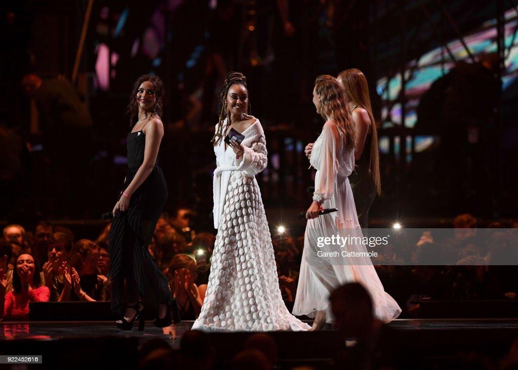 The BRIT Awards 2018 - Show : News Photo