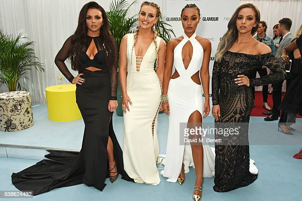 Jesy Nelson Perrie Edwards LeighAnne Pinnock and Jade Thirlwall of Little Mix attend the Glamour Women Of The Year Awards in Berkeley Square Gardens...
