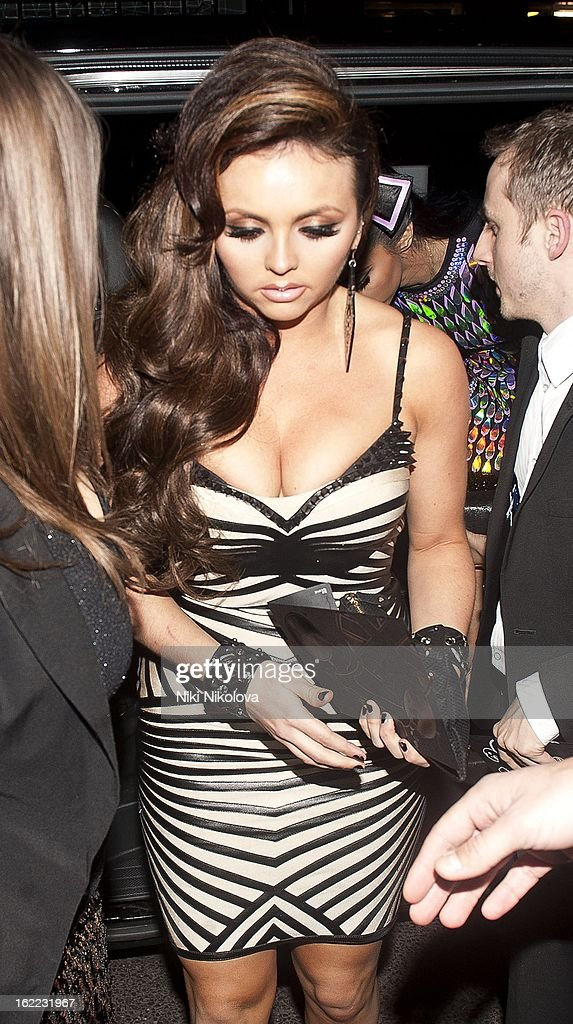 Jesy Nelson sighting on February 20, 2013 in London, England.