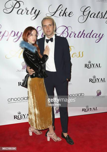 Jesy Odio and guest attend actress Ainsley Ross birthday party benefiting The Jonathan Foundation Upstairs At Vitellos on May 19 2018 in Studio City...