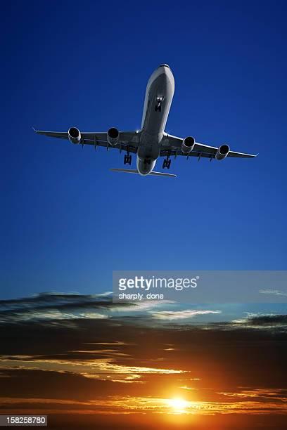 XXL jet Avion atterrissant