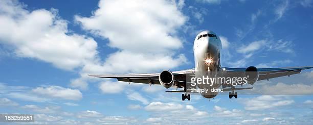 jet Avion atterrissant