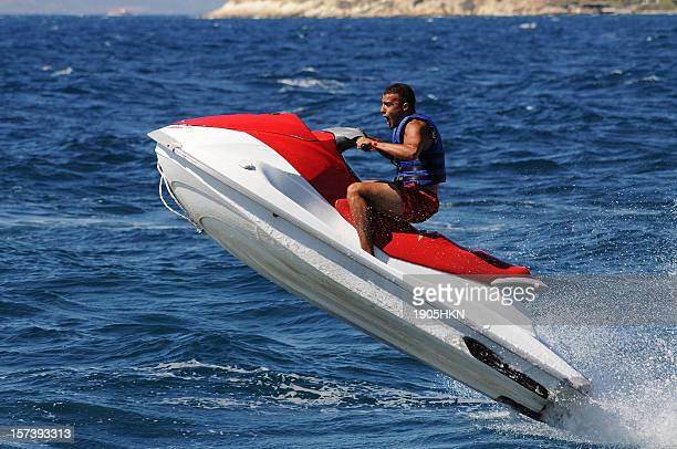 jet boat - jet ski stock pictures, royalty-free photos & images
