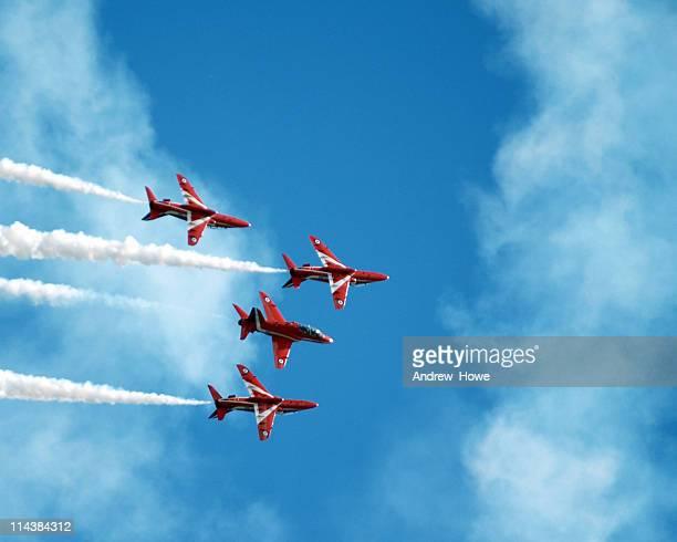ジェット表示チーム - 英国空軍 ストックフォトと画像