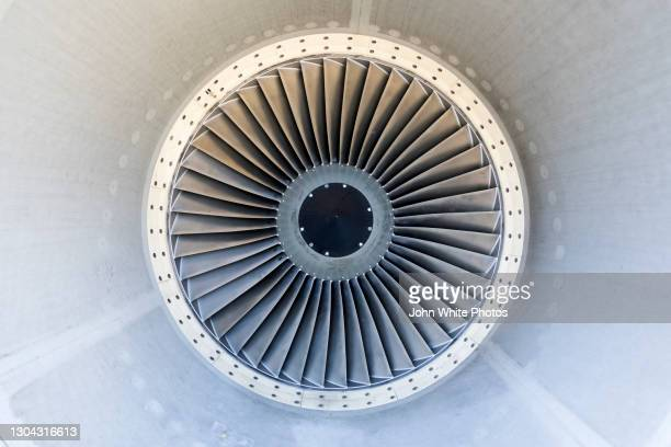 a jet engine turbine. - defending stock pictures, royalty-free photos & images