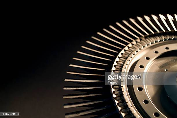 Jet engine turbine Rad