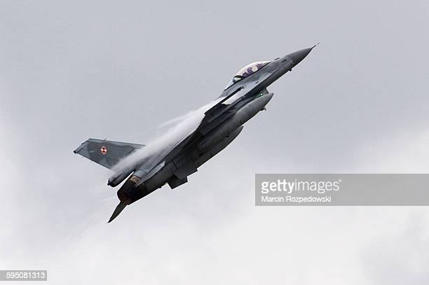 F-16 Jet Fighter of Polish Air Force