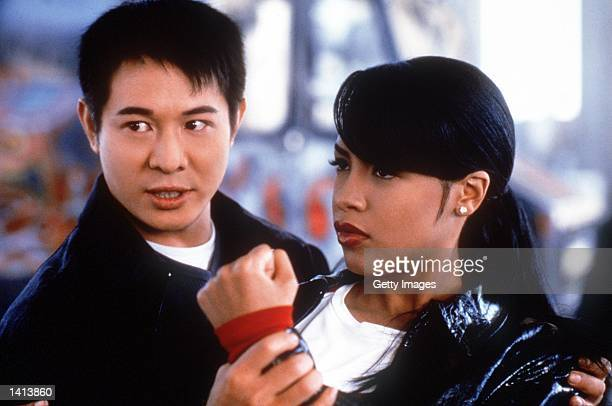 Jet Li and Aaliyah star in 'Romeo Must Die' Photo credit Kharen Hill 2000 Warner Bros