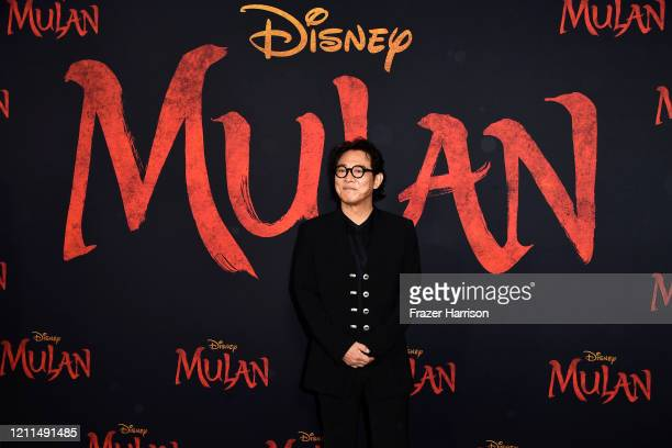 "Jet Li attends the Premiere Of Disney's ""Mulan"" on March 09, 2020 in Los Angeles, California."