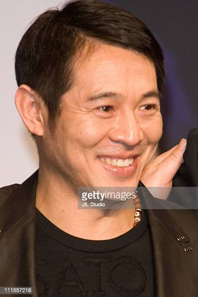 Jet Li during 'Fearless' Tokyo Press Conference at Grand Hyatt Tokyo in Tokyo Japan