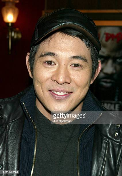 "Jet Li during World Premiere of ""Cradle 2 the Grave"" at The Ziegfeld Theatre in New York City, New York, United States."