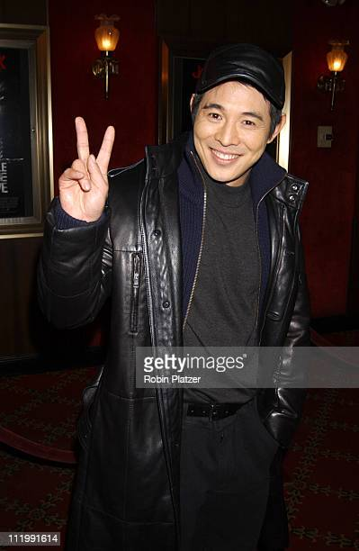 Jet Li during World Premiere of Cradle 2 The Grave at Ziegfeld Theater in New York, New York, United States.