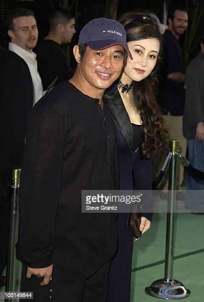 "Jet Li during World Premiere Of ""The Hulk"" - Hollywood at Universal Amphitheatre in Universal City, California, United States."