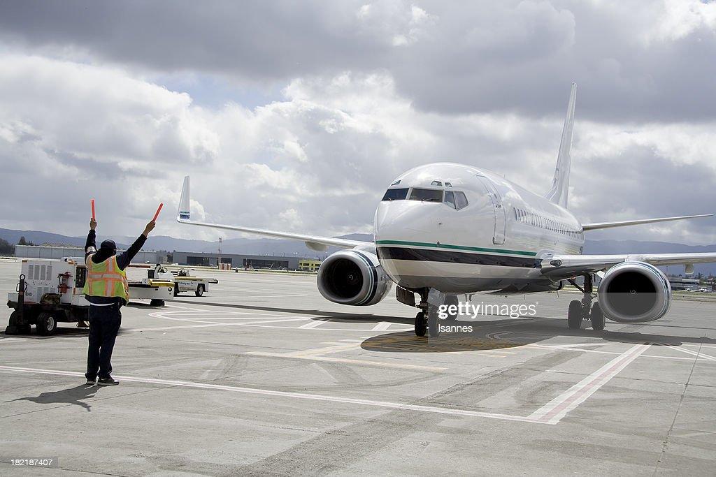 Jet Parking : Stock Photo