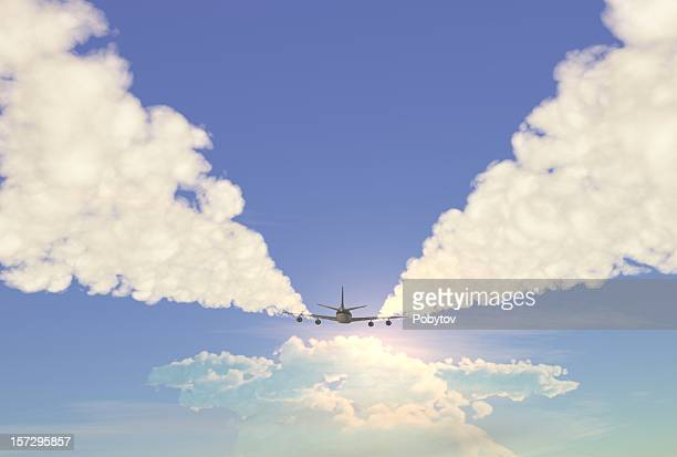 jet - gliding stock photos and pictures