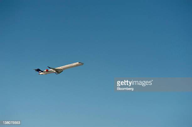 AB jet takes off from Landvetter airport near Gothenburg Sweden on Wednesday Feb 1 2012 SAS partowned by the governments of Sweden Norway and Denmark...