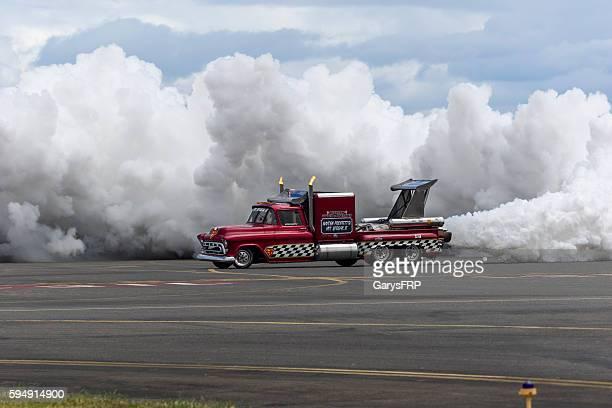 Jet Truck Smoke 57' Chevy Air Show Hillsboro Oregon