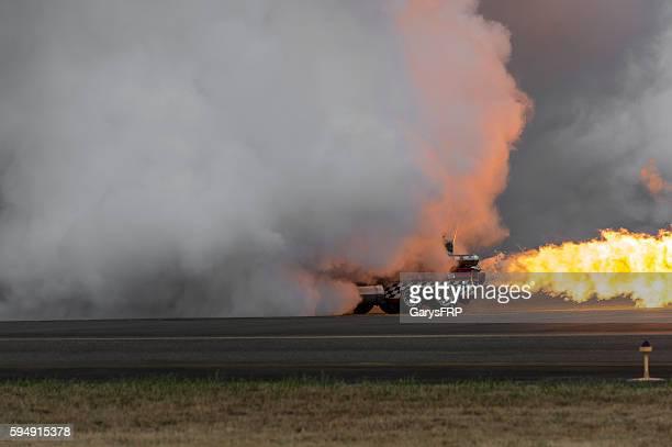 Jet Truck Smoke Flame 57' Chevy Hillsboro Oregon Air Show