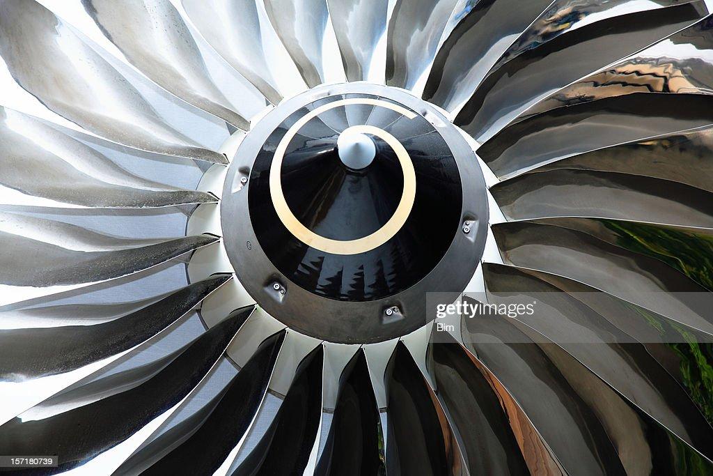 Jet Turbine : Stock Photo