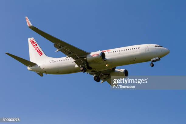 Jet2 Boeing 737 coming in to land