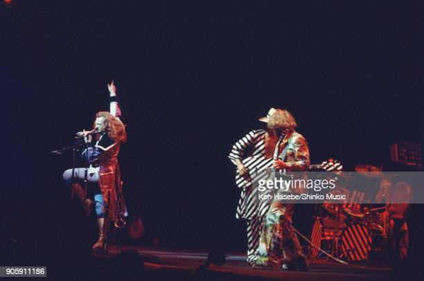 Jethro Tull live at Tokyo NHK Hall August 28 Tokyo Japan Ian Anderson Martin Barre Jeffrey Hammond
