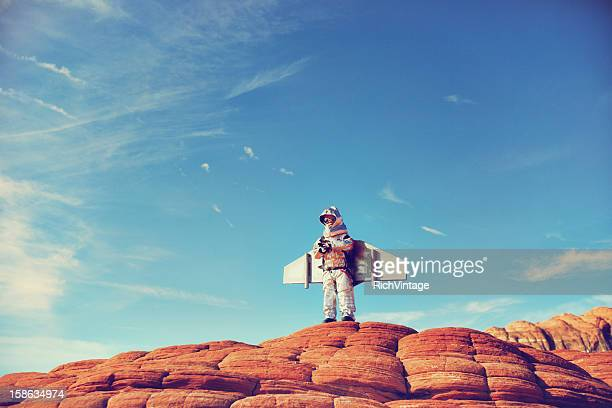 jetpack kid - intellectual property stock pictures, royalty-free photos & images