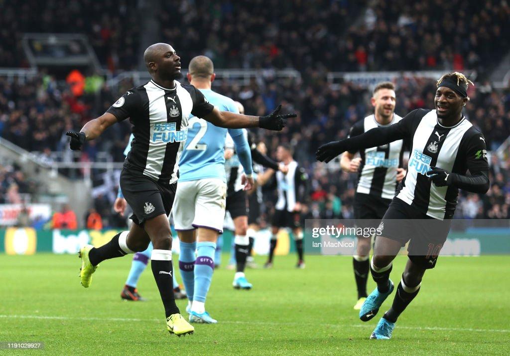 Newcastle United v Manchester City - Premier League : Nyhetsfoto