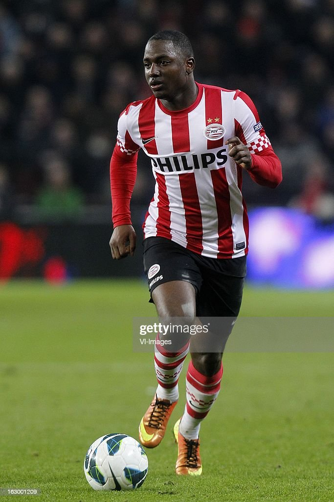Jetro Willems of PSV during the Dutch Eredivisie match between PSV Eindhoven and VVV-Venlo at Philips Stadium on march 02, 2013 in Eindhoven, The Netherlands