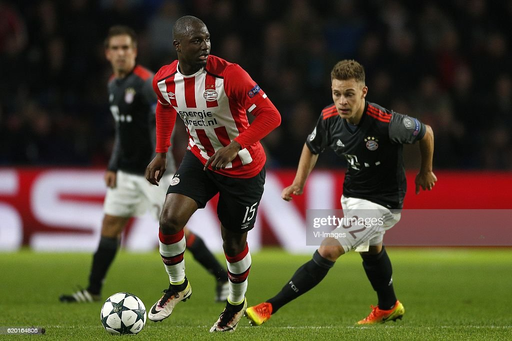 "UEFA Champions League""PSV v Bayern Munich"" : ニュース写真"