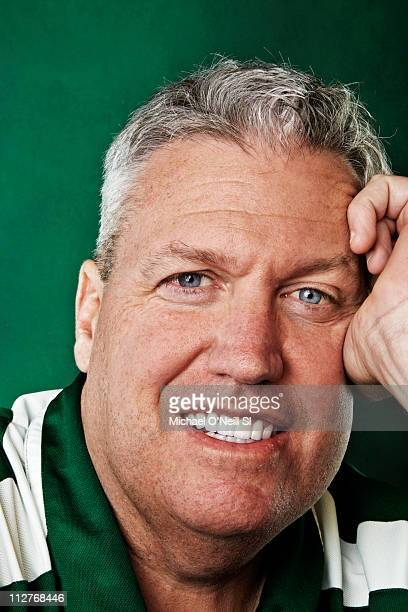 Jets coach Rex Ryan is photographed for Sports Illustrated on April 06 2011 at the Atlantic Health Jets Training Center in Florham Park New Jersey SI...